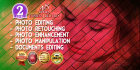 do any photoshop editing, retouch, enhance, document editing