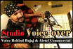 provide Indian Voiceover Voice Over