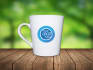 put your logo on coffee cup