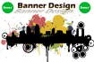 design strictly advertisement Banner