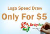 speed paint Your Logo