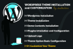 do  Create Wordpress sites and customization
