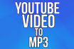 convert any youtube video to mp3 format