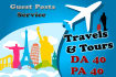 do guest posts on Travels guide sites Da40 high quality