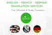 translate english to french fast
