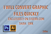 convert all type of graphic files