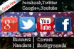 social media covers and banner