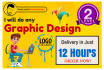 do any GRAPHIC design in 12 hrs