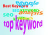 research best keyword for your blog or website