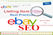 ebay listing title optimization for your eCommerce store