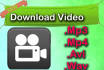 download your video and save it to a mp4