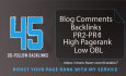 do manual 45 do follow and low O B L back links pr 2to6
