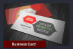 create a Professional Business Card Of High Quality