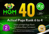 40 Manual DoFollow Blog Comment Actual Page Rank 4 Up To 6
