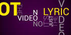 do lyric video for your song