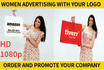 do Women Advertising With Your Logo