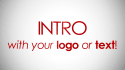 create a professional intro with your logo in HD