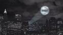 create a Batman Searchlight Animation for a logo