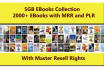 give best 2000 PLR eBooks and Master Resell Right