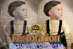 restore and color heavily damaged photos