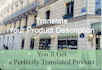 translate your Product Description from English to French