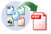 convert Text Word Excel PowerPoint document to PDF