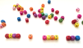 arrange Letter Beads to form name or message