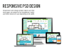 design 3 screen psd for each webpage