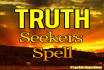 cast the illuminating Truth Seekers Spell for you
