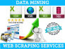 do Web scraping, Data Mining, Data Or Image extraction