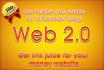 publish your article over 10 dofollow web 2,0 blogs