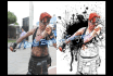 make a partial paint effect with your photo