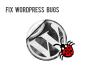 fix wordpress bugs of your website