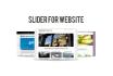 create slider for your website