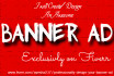 professionally design your Banner Ad