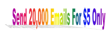 set up server to send 20,000 emails for USD 5 Only