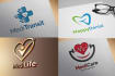 create Dental, Medical, Yoga, Health and Fitness Logo