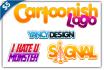 design Professinal Cartoonish logo