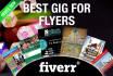 design Flyer,Brochure,Postcard,Poster in a breathtaking way