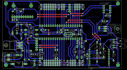design your PCB dual or single layer with Eagle