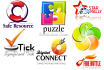 create 2 different logo for your brand, high quiality and professional