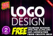 do  5 logo samples with free jpg, psd, ai,Png  and unlimited revisions