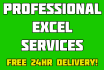 make you a custom professional excel spreadsheet