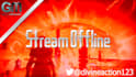 create a professional twitch offline or AFK banner