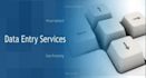 do any type data entry work