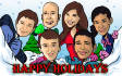 draw Cartoons Caricature you and your full family