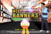 design a professional web Banner Ads