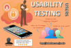 perform Website or Mob App Usability Testing