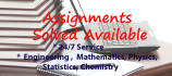 urgently Complete Your Assignments, Solve Questions Etc