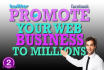 promote your WEB page over 2 Millions of People